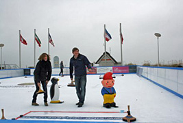 Dünenmeile on ice